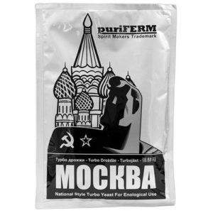 Спиртовые турбо дрожжи PureFerm Moscow