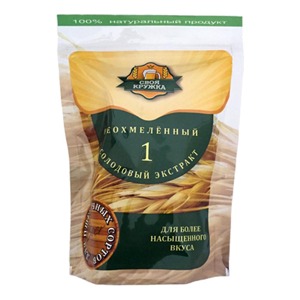 Неохмелённый солодовый экстракт Своя кружка пшеничный 1 кг