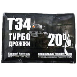 Спиртовые турбо дрожжи T34